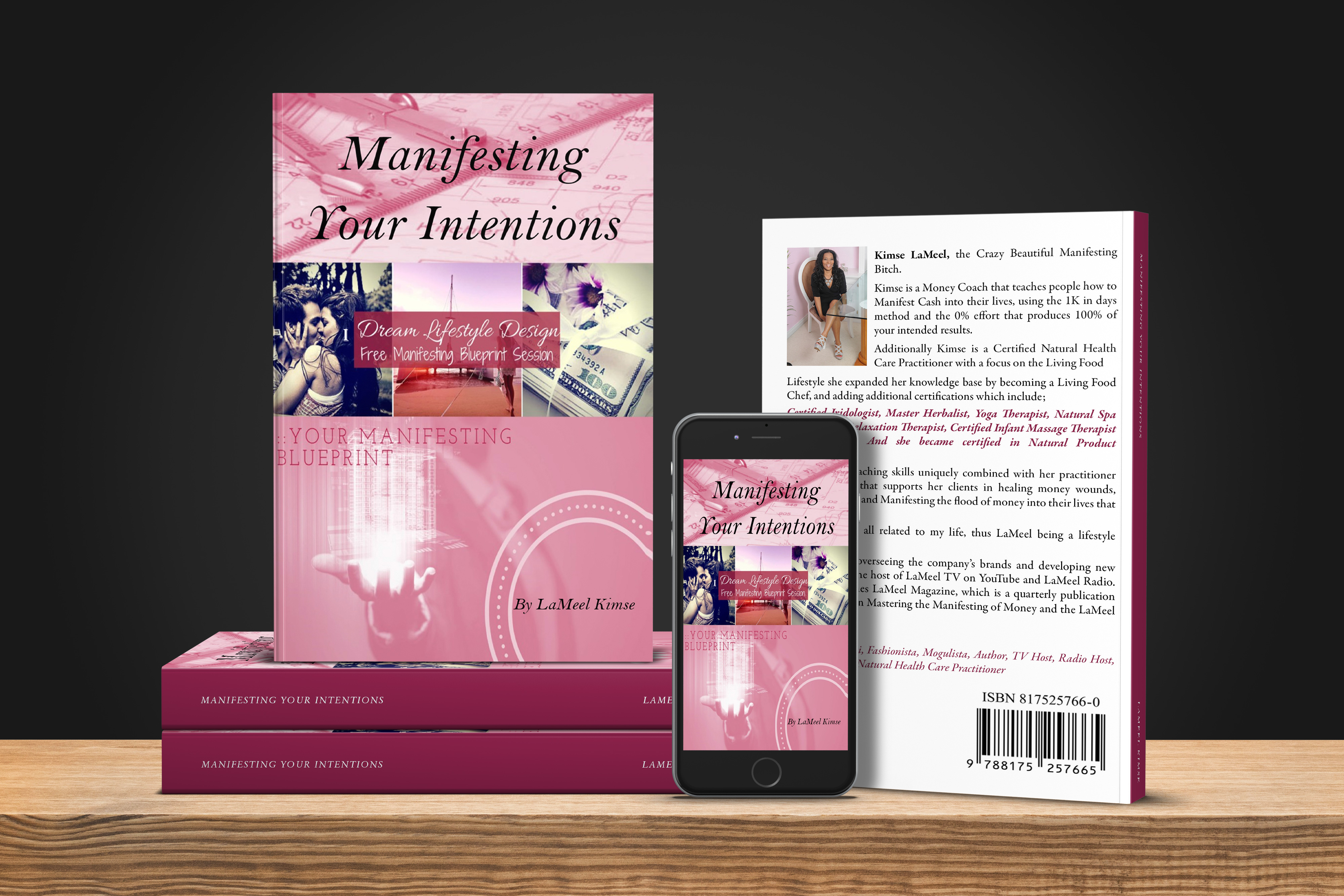 Manifesting Your Intentions Book By LaMeel